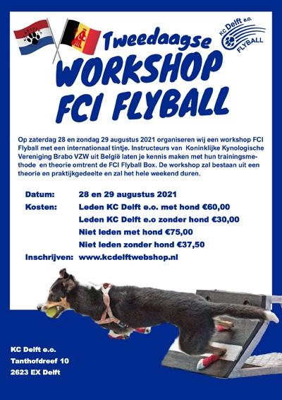 Workshop FCI Flyball